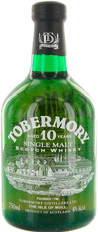 Tobermory Single Malt Scotch 10 Year